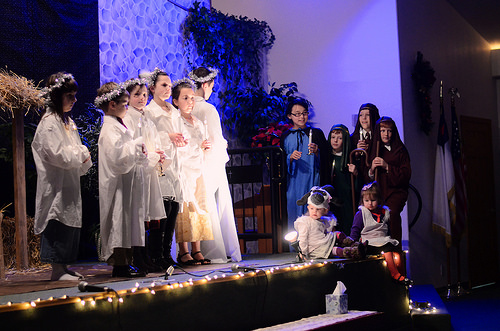 Our Christmas Play- the kids did a great job